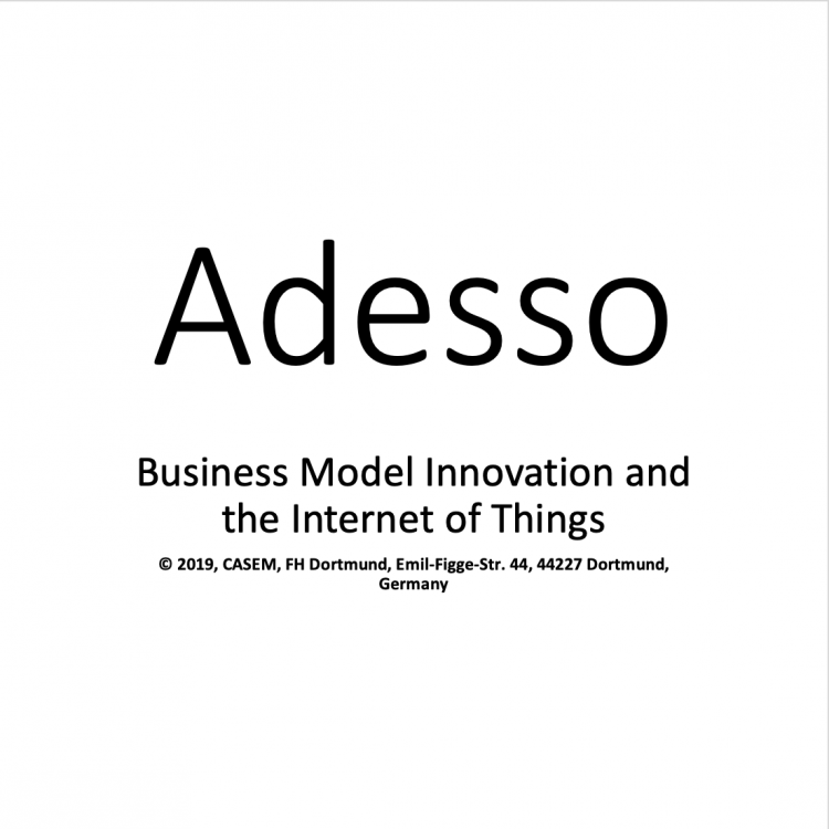 Adesso – Business Model Innovation and the Internet of Things