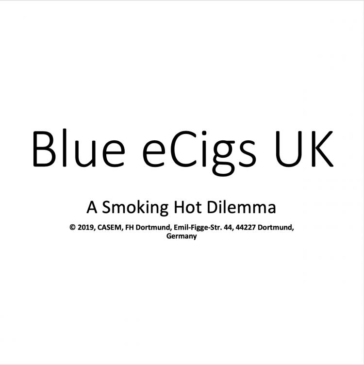 Blu eCigs UK – A Smoking Hot Dilemma (ENG)