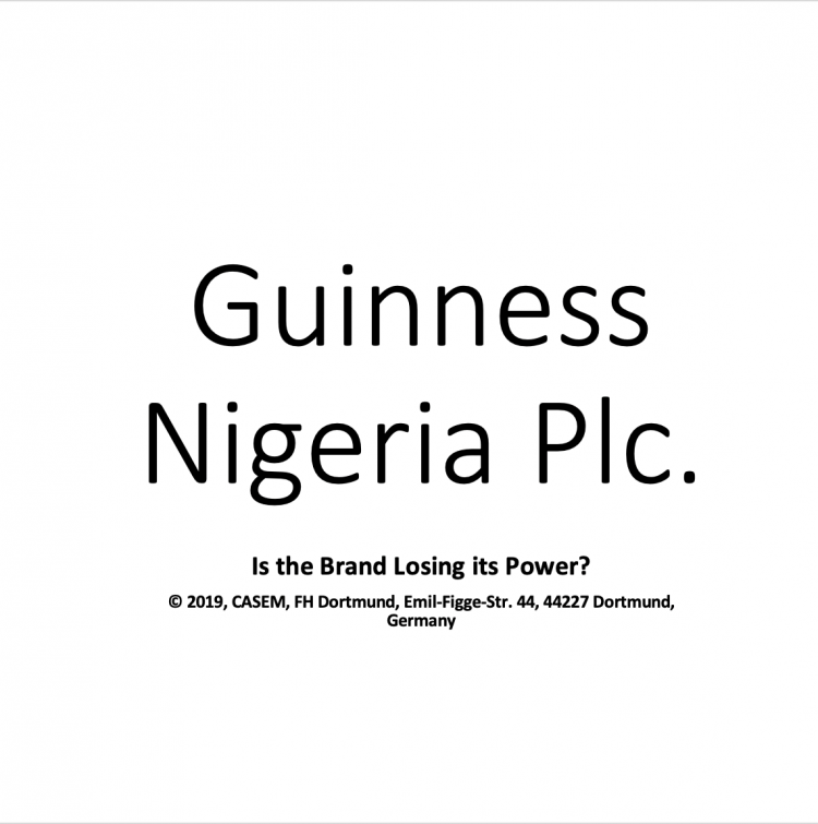 Guinness Nigeria – Is the Brand Losing its Power?