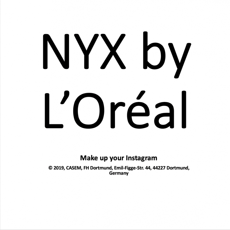 NYX by L'Oréal – Make up your Instagram