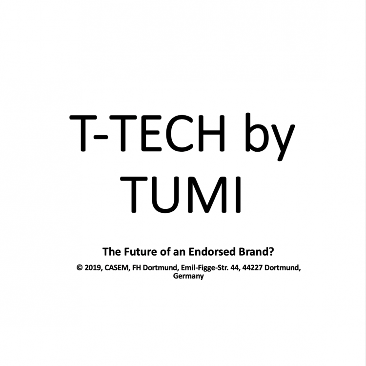 T-TECH by TUMI – The Future of an Endorsed Brand?