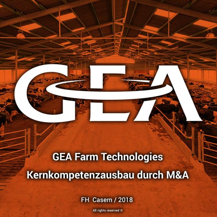 GEA Farm Technologies – Kernkompetenzausbau durch M&A
