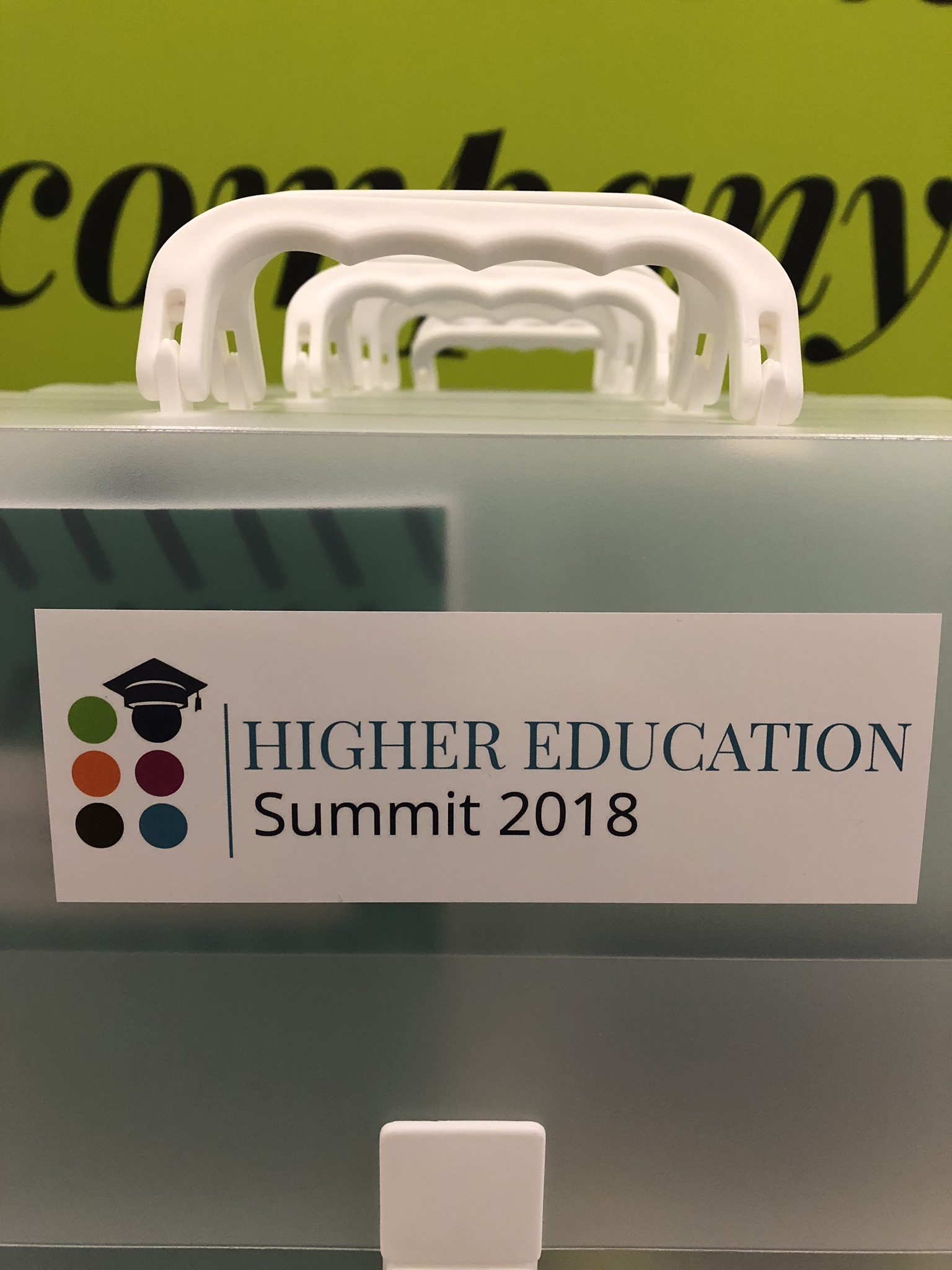 Teilnahme am Higher Education Summit 2018