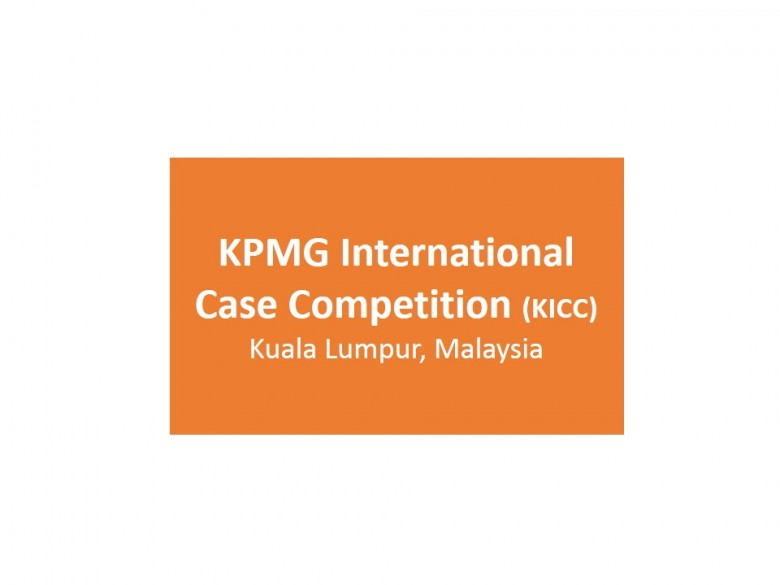 KPMG International Case Competition (KICC)
