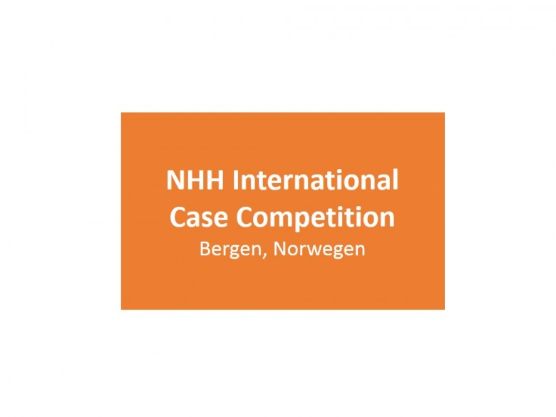 NHH International Case Competition