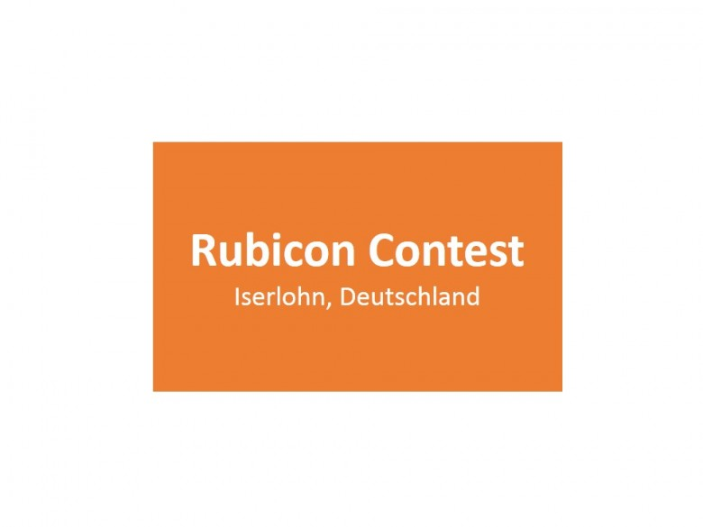 Rubicon Contest