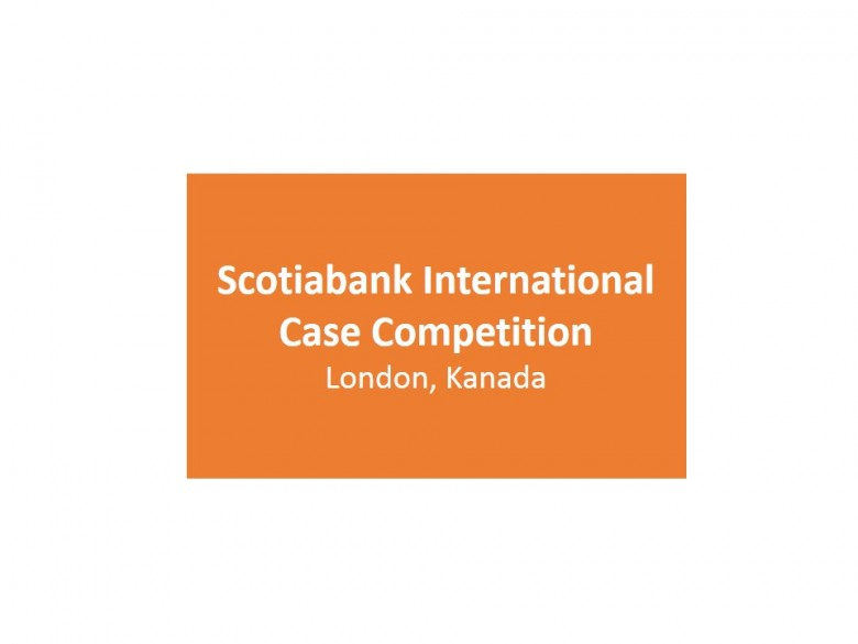 Scotiabank International Case Competition