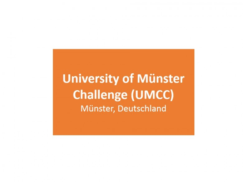 University of Münster Challenge (UMCC)