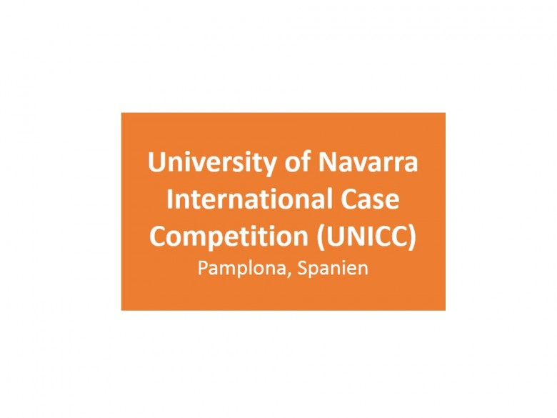 University of Navarra International Case Competition (UNICC)